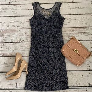 NWT Lipsy form fitting lace overlay dress